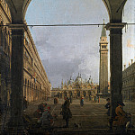 Part 1 National Gallery UK - Canaletto - Venice - Piazza San Marco
