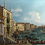 Part 1 National Gallery UK - Canaletto - A Regatta on the Grand Canal