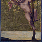 Putto gathering Grapes, Annibale Carracci