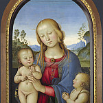 Associate of Pietro Perugino – The Virgin and Child with Saint John, Part 1 National Gallery UK