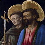 Antonio Vivarini and Giovanni dAlemagna – Saints Francis and Mark, Part 1 National Gallery UK