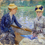 Berthe Morisot – Summers Day, Part 1 National Gallery UK