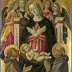 The Virgin and Child with Saints, Angels and a Donor, Part 1 National Gallery UK