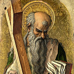 Part 1 National Gallery UK - Carlo Crivelli - Saint Andrew