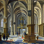 Bartholomeus van Bassen – Interior of St Cunerakerk, Rhenen, Part 1 National Gallery UK