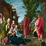 Part 1 National Gallery UK - Albrecht Altdorfer - Christ taking Leave of his Mother