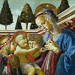 Part 1 National Gallery UK - Andrea del Verrocchio - The Virgin and Child with Two Angels