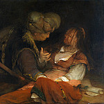 Aert de Gelder – Judah and Tamar, Part 1 National Gallery UK