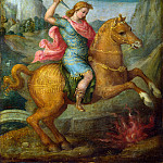 Part 1 National Gallery UK - Bacchiacca - Marcus Curtius