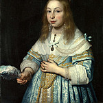 Bartholomeus van der Helst – Portrait of a Girl, Part 1 National Gallery UK