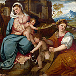 Part 1 National Gallery UK - Bonifazio di Pitati - The Madonna and Child with Saints