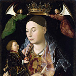 Part 1 National Gallery UK - Antonello da Messina - The Virgin and Child