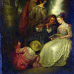 Part 1 National Gallery UK - After Jean-Antoine Watteau - Perfect Harmony