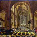 Part 1 National Gallery UK - Bartholomeus van Bassen - Interior of a Church