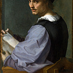 Part 1 National Gallery UK - Andrea del Sarto - Portrait of a Young Man