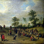 After David Teniers the Younger – A Country Festival near Antwerp, Part 1 National Gallery UK