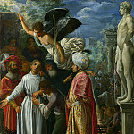 Adam Elsheimer – Saint Lawrence prepared for Martyrdom, Part 1 National Gallery UK
