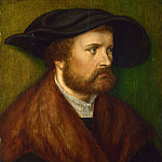 Part 1 National Gallery UK - Augsburg, Unknown artist - Portrait of a Man