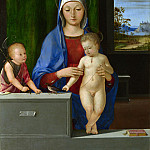 Part 1 National Gallery UK - Antonio de Solario - The Virgin and Child with Saint John