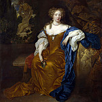 Part 1 National Gallery UK - Caspar Netscher - Portrait of a Lady