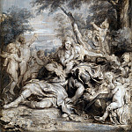 Anthony van Dyck – Rinaldo conquered by Love for Armida, Part 1 National Gallery UK