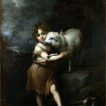 Bartolome Esteban Murillo – The Infant Saint John with the Lamb, Part 1 National Gallery UK
