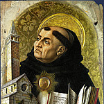 Carlo Crivelli – Saint Thomas Aquinas, Part 1 National Gallery UK