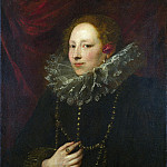 Part 1 National Gallery UK - Anthony van Dyck - Portrait of a Woman
