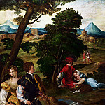 Part 1 National Gallery UK - Bernardino da Asola - The Garden of Love