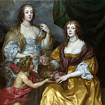 Anthony van Dyck – Lady Elizabeth Thimbelby and her Sister, Part 1 National Gallery UK