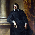 Part 1 National Gallery UK - Anthony van Dyck - Portrait of the Abbe Scaglia