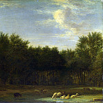 Part 1 National Gallery UK - Adriaen van de Velde - The Edge of a Wood