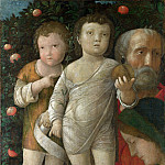 The Holy Family with Saint John, Andrea Mantegna