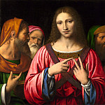 Bernardino Luini – Christ among the Doctors, Part 1 National Gallery UK
