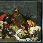 Part 1 National Gallery UK - After Massimo Stanzione - Monks and Holy Women mourning over the Dead Christ