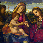 Part 1 National Gallery UK - Andrea Previtali - The Virgin and Child with Saints