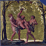 Part 1 National Gallery UK - Annibale Carracci - Silenus gathering Grapes
