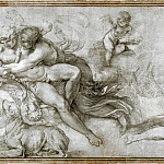 Agostino Carracci – Cephalus carried off by Aurora in her Chariot, Part 1 National Gallery UK