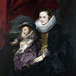 Part 1 National Gallery UK - Anthony van Dyck - Portrait of a Woman and Child