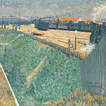 Part 1 National Gallery UK - Charles Angrand - The Western Railway at its Exit from Paris