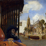 Carel Fabritius – A View of Delft, Part 1 National Gallery UK