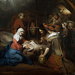 Barent Fabritius – The Adoration of the Shepherds, Part 1 National Gallery UK