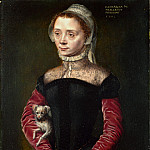 Part 1 National Gallery UK - Catharina van Hemessen - Portrait of a Lady