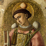 Carlo Crivelli – Saint Stephen, Part 1 National Gallery UK
