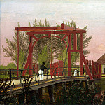 Part 1 National Gallery UK - Christen Kobke - The Northern Drawbridge to the Citadel in Copenhagen