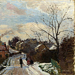 Part 1 National Gallery UK - Camille Pissarro - Fox Hill, Upper Norwood