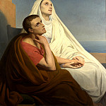 Ary Scheffer – Saints Augustine and Monica, Part 1 National Gallery UK