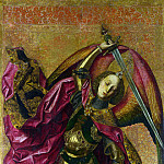 Part 1 National Gallery UK - Bartolome Bermejo - Saint Michael Triumphs over the Devil