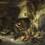 Adriaen van Ostade – An Alchemist, Part 1 National Gallery UK