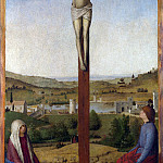 Part 1 National Gallery UK - Antonello da Messina - Christ Crucified